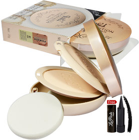 Glam21 High Definition Compact Powder 2in1 CP8006-02 With Free LaPerla Kajal Worth Rs.125/