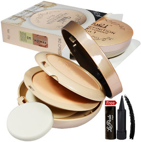 Glam21 High Definition Compact Powder 2in1 CP8006-03 With Free LaPerla Kajal Worth Rs.125/