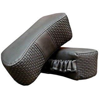 Auto Addict CV Designer Gray Neck Color Pillow Cushion 2 Pcsfor Datsun Redigo