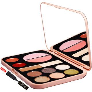 Mars Imported Matte Forever Nude Including Eyeshadow,Blush,Highlighter  Lip Color Palette 91004-02 Makeup Kit25gm