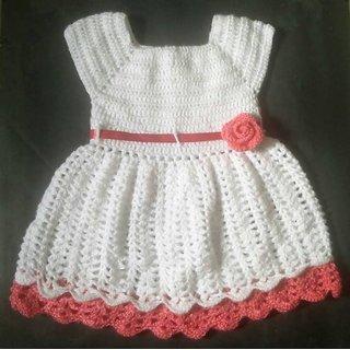 322b9df68 Buy Crochet Baby frock Online - Get 6% Off