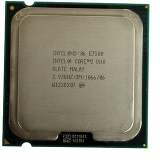 intel 2.93 GHz LGA775 Core 2 Duo E7500 Processor core2duo 2.93GHZ