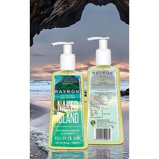 Rayron NakedIsland Hand Sanitizer - 300ml (Yellow)