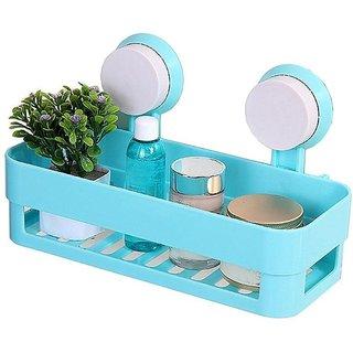 BANQLYN Shelf Storage Organizer For Shampoo Conditioner Soap(Blue)