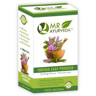 MR Ayurveda  Herbal Indigo Powder Hair Color
