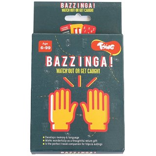 Toiing Bazzinga Educational Card Games for Kids