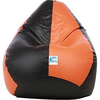 Buy Caddyfull Large Bean Bag Cover Black Orange Online Get 75 Off