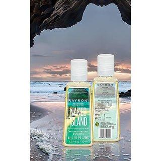Rayron NakedIsland Hand Sanitizer - 6pcs of 30ml