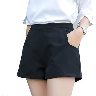 Fashionable Black Shorts for women