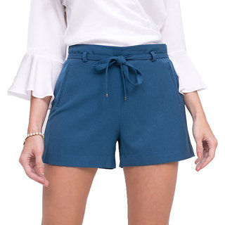 Fashionable Blue Shorts for women