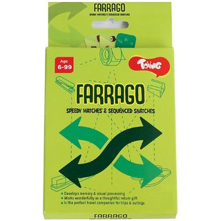 Toiing Farrago Educational Card Games for Kids