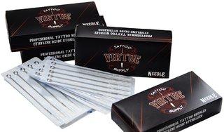Virtue Round Liner Tattoo Needles (Pack of 50) (1207RL)