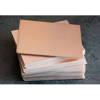 5 Pieces 6inch x 4inch (15cm x 10cm) Copper Clad for PCB making (Single Sided) TD-64CLAD5P