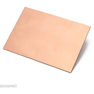 2 Pieces 12inch x 6inch (30cm x 15cm) Copper Clad for PCB making (Single Sided)