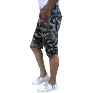 Timbre Men's Grey Shorts