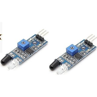 2Pieces IR Obstacle Detection Sensor Module TD-IRMODULE2P