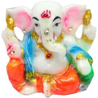 Paras Magic Ganesh Temple Showpiece for Car Dashboard 28