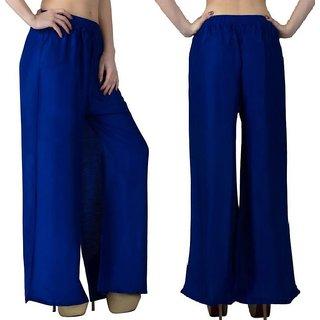 Riya Daily wear royal Blue colour of palazzo pant or trousers