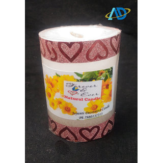 Special Pillar Candles Unscented High Quality 4 inch / 3 inch
