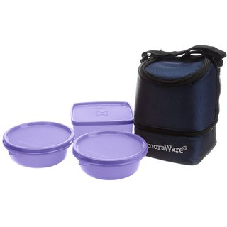 Signoraware Elegant Lunch Box - 533 - Violet Color