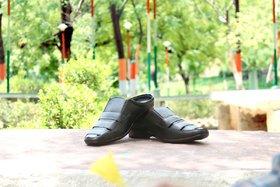 29K Black Genuine leather Sandals For Men