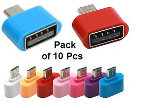 OTG USB Adapter (10 Pcs) For Smartphones and Tablets