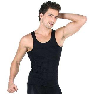6cf406b7ef Astyler black Slim n Lift Slimming Vest for Men shapewear slim vest upper