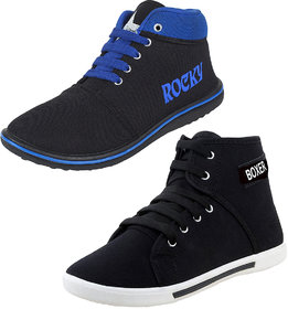 Super Men Combo Pack Of 2 Casual Sneakers Shoes