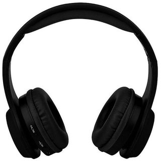 Wireless Bluetooth Headphone Gaming Headsets FM/TF Card Radio Stereo Auriculares With Mic MS991A Black