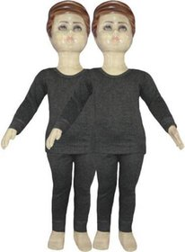 Tahiro Grey  Thermal Set - Pack Of 2