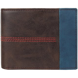 29K Mens PU Leather Brown Mens Wallet - (29KBRN1)