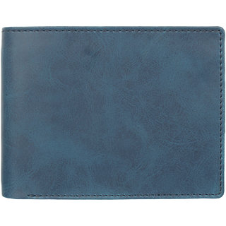 29K Artificial Leather Blue Mens Wallet - (29KBLU2)