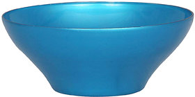 adaraforever Exclusive Metalic Sky Blue  Glass Bowl Size Big