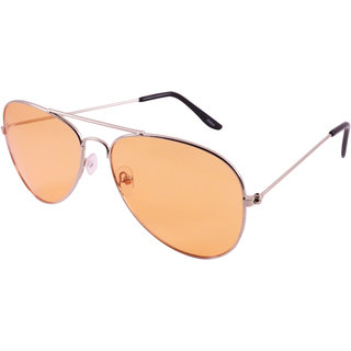 ffab63d1593 Buy Derry Aviator Sunglass in Orange Shade Online - Get 81% Off