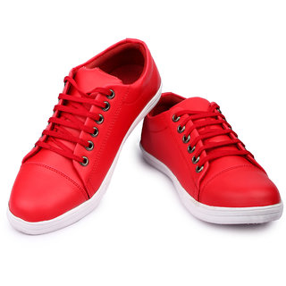 Anson Men Red Causal shoes