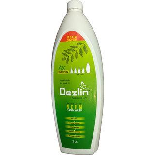 Dezlin Antibacterial Neem Hand wash 1 Ltr