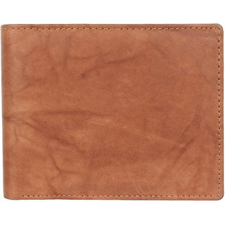 29K Mens Leather Tan Bi-fold Wallet - (29KWTAN1)