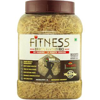Fitness Brown Basmati Rice (16 Jars X 1 KG)