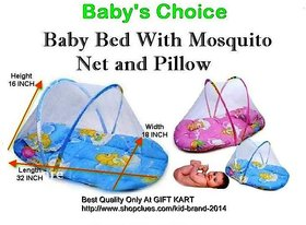 Baby Bed Infant Folding Mosquito Net Tent With Pillow M