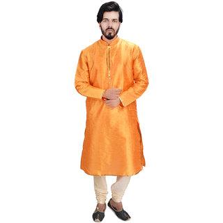 Orange / Kesariya colour Kurta