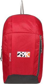 29K Outdoor Travel Backpack For Hiking Camping Rucksack Red 15L Laptop Backpack