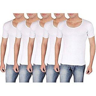 MGM Men's Cotton Vest (Pack of 5)