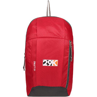 29K Outdoor Travel Backpack For Hiking Camping Rucksack Red 15L Laptop Backpack