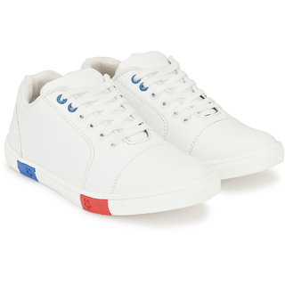 S37 MEN'S STYLISH WHITE SNEAKER SHOES