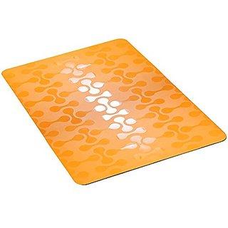 Khushi Creation Stylish PVC Table Mats - Pack of 6 , Waterproof Place Mats Multi Purpose Mats