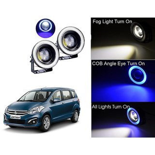Car Fog Lamp Blue Angel Eye DRL Led Light For Maruti Suzuki Swift Ertiga