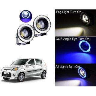 Car Fog Lamp Blue Angel Eye DRL Led Light For Maruti Suzuki Alto 800