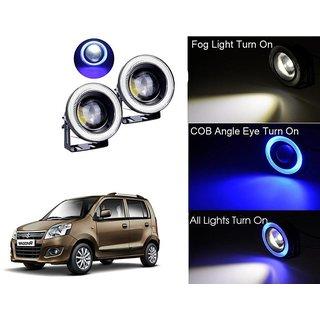 Car Fog Lamp Blue Angel Eye DRL Led Light For Maruti Suzuki Wagon R