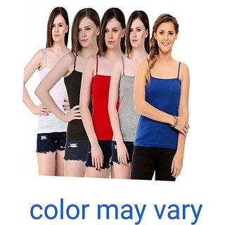 Ladies Multicolor Camisole set of 3 pc