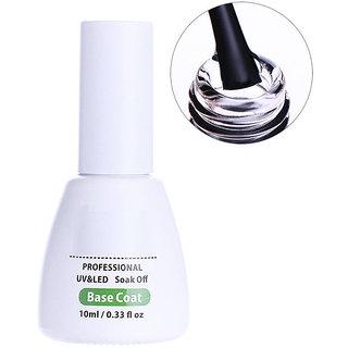 10ml Peel Off Nail Gel Base Coat No Need Remover Pusher Water-based Soak Off Manicure Art LED UV Primer Gel Polish